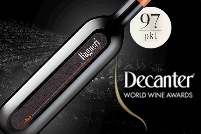 Platyna na Decanter World Wine Awards