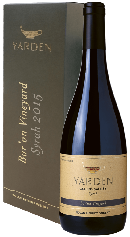 Yarden Syrah Bar'on Vineyard