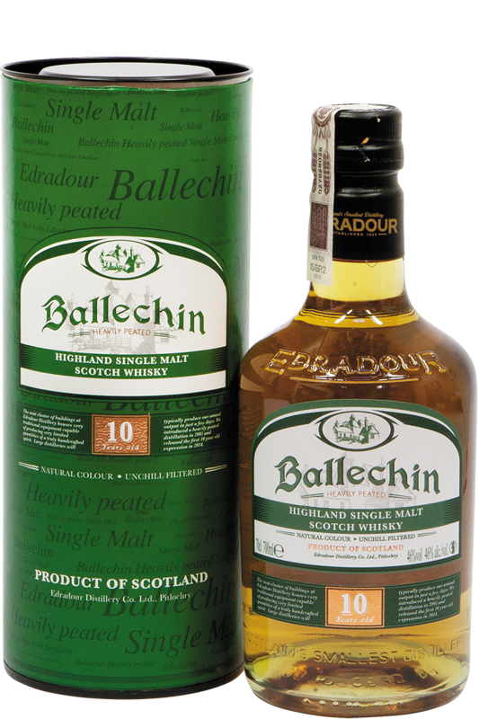 Ballechin Highland Single Malt Scotch Whisky w tubie