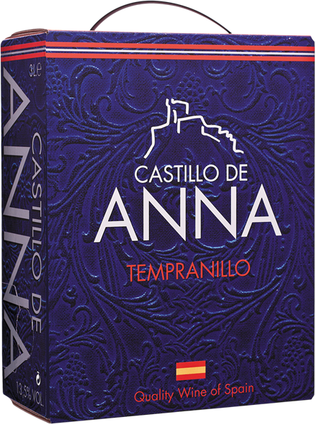 Castillo de Anna Tinto 3L - Bag in Box