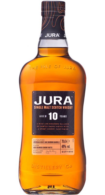Jura 10 Year Old w tubie